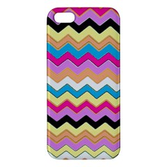 Chevrons Pattern Art Background Apple iPhone 5 Premium Hardshell Case