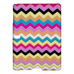 Chevrons Pattern Art Background Samsung Galaxy Tab S (10.5 ) Hardshell Case