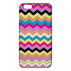Chevrons Pattern Art Background Iphone 6 Plus/6s Plus Tpu Case