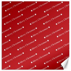 Christmas Paper Background Greeting Canvas 12  x 12