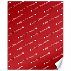 Christmas Paper Background Greeting Canvas 16  x 20
