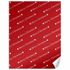 Christmas Paper Background Greeting Canvas 18  x 24