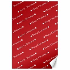 Christmas Paper Background Greeting Canvas 20  x 30
