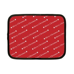 Christmas Paper Background Greeting Netbook Case (Small)