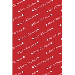 Christmas Paper Background Greeting 5.5  x 8.5  Notebooks