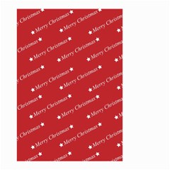 Christmas Paper Background Greeting Small Garden Flag (Two Sides)