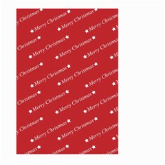 Christmas Paper Background Greeting Large Garden Flag (Two Sides)