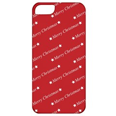Christmas Paper Background Greeting Apple iPhone 5 Classic Hardshell Case
