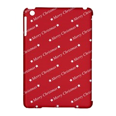 Christmas Paper Background Greeting Apple iPad Mini Hardshell Case (Compatible with Smart Cover)
