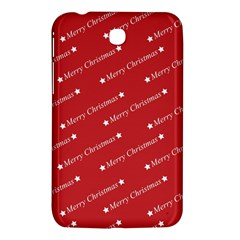 Christmas Paper Background Greeting Samsung Galaxy Tab 3 (7 ) P3200 Hardshell Case