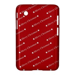 Christmas Paper Background Greeting Samsung Galaxy Tab 2 (7 ) P3100 Hardshell Case