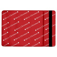Christmas Paper Background Greeting iPad Air Flip