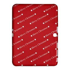 Christmas Paper Background Greeting Samsung Galaxy Tab 4 (10.1 ) Hardshell Case
