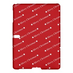 Christmas Paper Background Greeting Samsung Galaxy Tab S (10.5 ) Hardshell Case