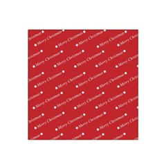 Christmas Paper Background Greeting Satin Bandana Scarf