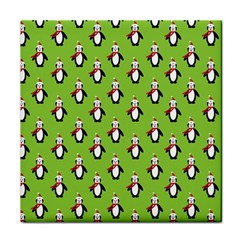 Christmas Penguin Penguins Cute Face Towel