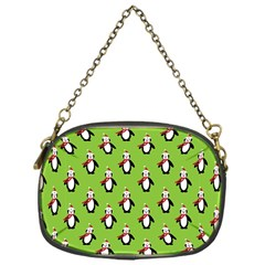 Christmas Penguin Penguins Cute Chain Purses (One Side)