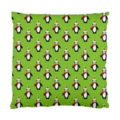 Christmas Penguin Penguins Cute Standard Cushion Case (One Side)