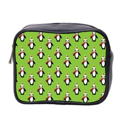 Christmas Penguin Penguins Cute Mini Toiletries Bag 2-Side