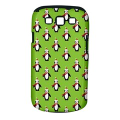Christmas Penguin Penguins Cute Samsung Galaxy S III Classic Hardshell Case (PC+Silicone)