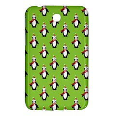 Christmas Penguin Penguins Cute Samsung Galaxy Tab 3 (7 ) P3200 Hardshell Case