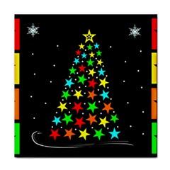 Christmas Time Tile Coasters