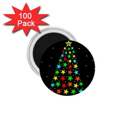 Christmas Time 1.75  Magnets (100 pack)