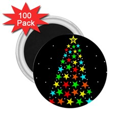 Christmas Time 2.25  Magnets (100 pack)