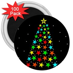 Christmas Time 3  Magnets (100 pack)