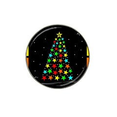 Christmas Time Hat Clip Ball Marker (4 pack)