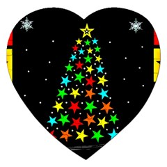 Christmas Time Jigsaw Puzzle (Heart)