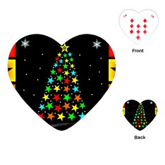 Christmas Time Playing Cards (Heart)