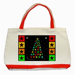 Christmas Time Classic Tote Bag (Red)