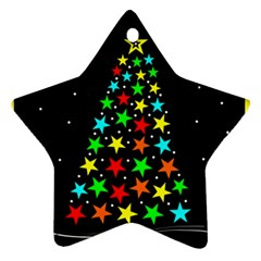 Christmas Time Star Ornament (Two Sides)