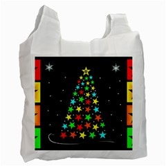 Christmas Time Recycle Bag (Two Side)