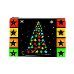 Christmas Time Cosmetic Bag (Large)