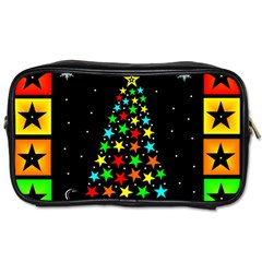 Christmas Time Toiletries Bags