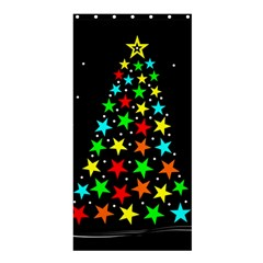 Christmas Time Shower Curtain 36  X 72  (stall)