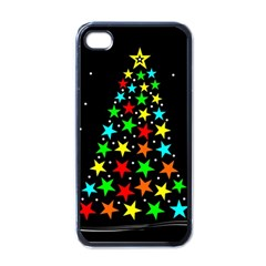 Christmas Time Apple iPhone 4 Case (Black)