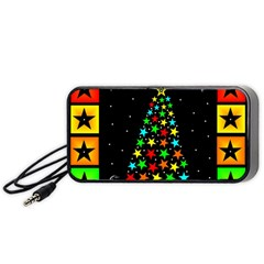 Christmas Time Portable Speaker (Black)