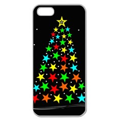 Christmas Time Apple Seamless iPhone 5 Case (Clear)