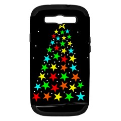 Christmas Time Samsung Galaxy S III Hardshell Case (PC+Silicone)