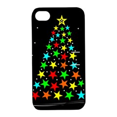 Christmas Time Apple Iphone 4/4s Hardshell Case With Stand