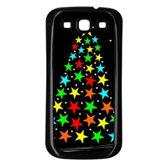 Christmas Time Samsung Galaxy S3 Back Case (Black)