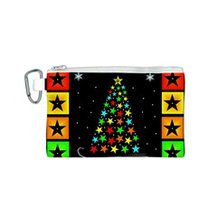 Christmas Time Canvas Cosmetic Bag (S)