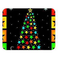 Christmas Time Double Sided Flano Blanket (Large)