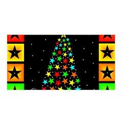 Christmas Time Satin Wrap