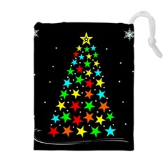 Christmas Time Drawstring Pouches (extra Large)
