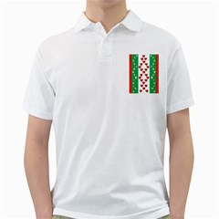 Christmas Snowflakes Christmas Trees Golf Shirts