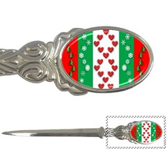 Christmas Snowflakes Christmas Trees Letter Openers